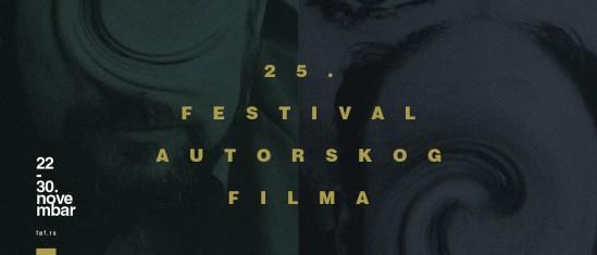 25. Festival autorskog filma, FAF 2019.