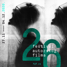 26. Festival autorskog filma FAF 2020 - program